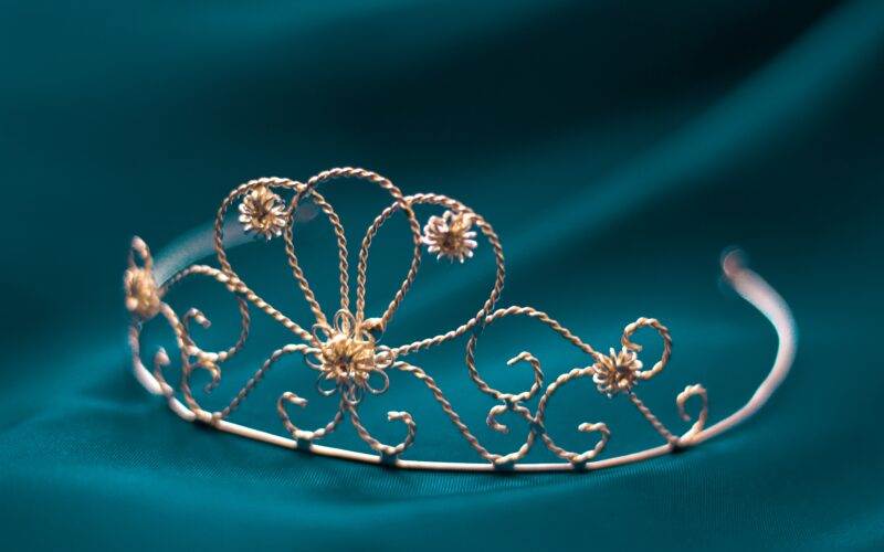 Tiara for new royal stepmother